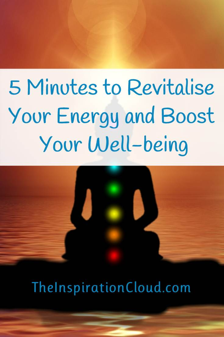 Improve your health, revitalise your energy and boost your well-being in just 5 minutes with the Donna Eden Energy Routine