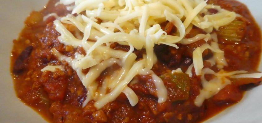 Vegetarian Chili Sans Carne