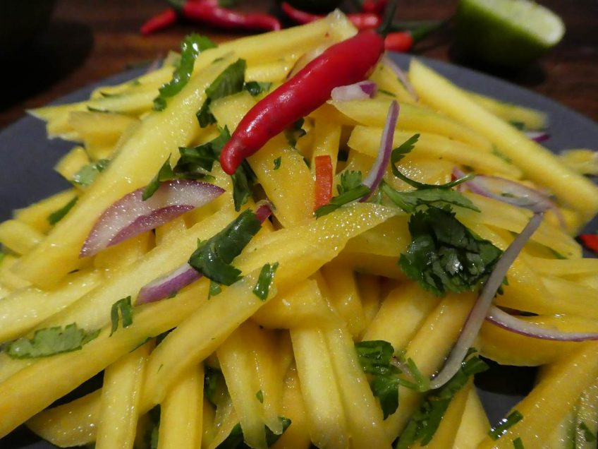Green Mango Salad-Transport Yourself to Thailand