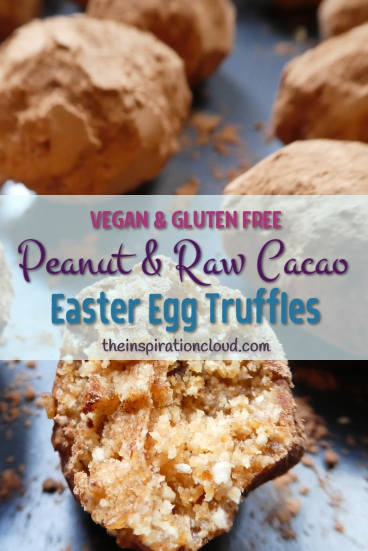 Chocolate is good for you! Try my recipe for delicious, healthy, vegan and gluten-free raw cacao truffles reminiscent of peanut butter cups.