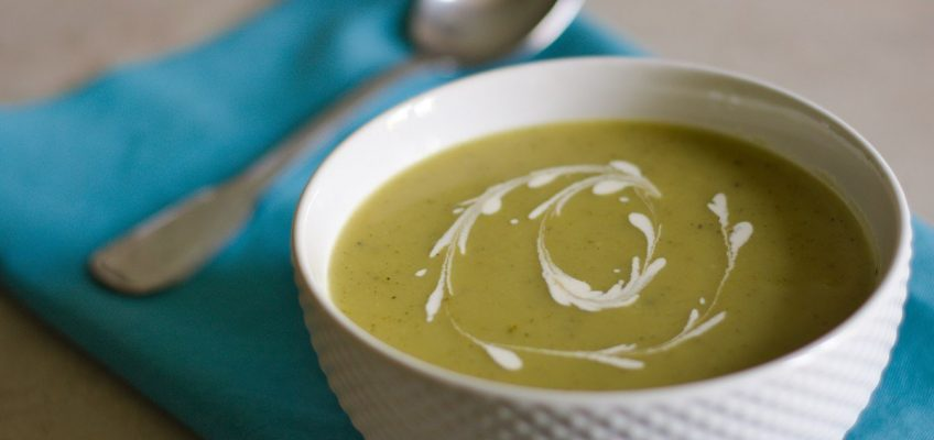 How To Make Cream of Courgette Soup Like A French Chef