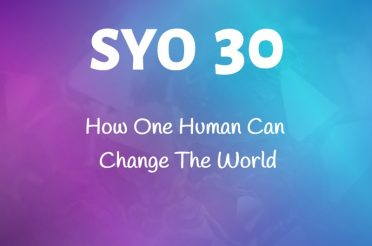 #30: How One Human Can Change The World
